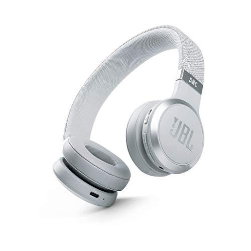JBL LIVE 460NC - Auriculares supraaurales inalámbricos con cancelación adaptativa de ruido, tecnología Bluetooth,...