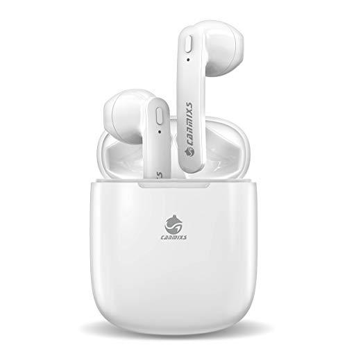 CanMixs Auriculares Bluetooth,T12 reducción de Ruido Auriculares Inalámbricos Mini Twins Estéreo In-Ear Sport...