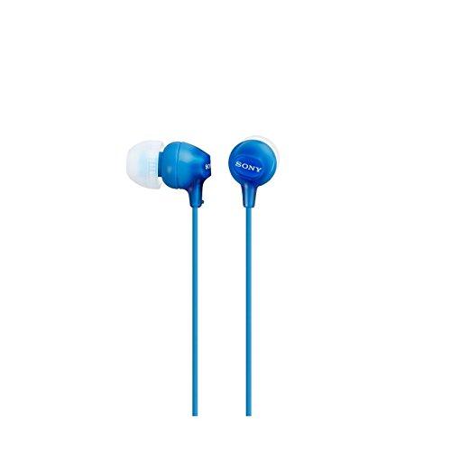 Sony EX 15LP - Auriculares Intraurales, Color Azul, Talla Única