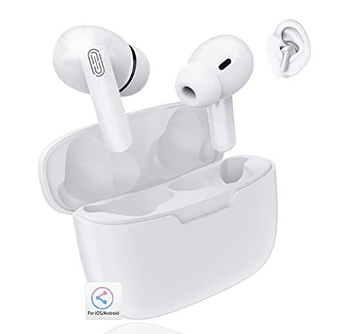 Auriculares Bluetooth Auricular Inalámbrico Bluetooth 5.1 Control tactil Deportivos Impermeables IPX5 Auriculares para...