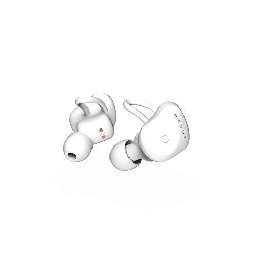 Ryght Twins Auriculares Inalámbricos Bluetooth, Función Manos Libres, Estéreo, Caja de Carga, Batería 4h+12h,...