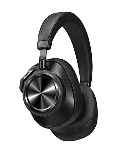 Bluedio T7 Auriculares Bluetooth Cancelación de Ruido Activa Personalizada, Estéreo Hi-Fi, 30 Horas de reproducción,...