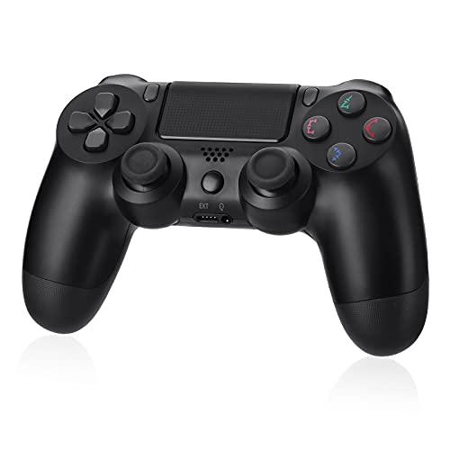 Powerextra Controlador Inalámbrico para PS4- Diseño Avanzado 3D-Sensor y G-Sensor-Gamepad Wireless Bluetooth con Doble...