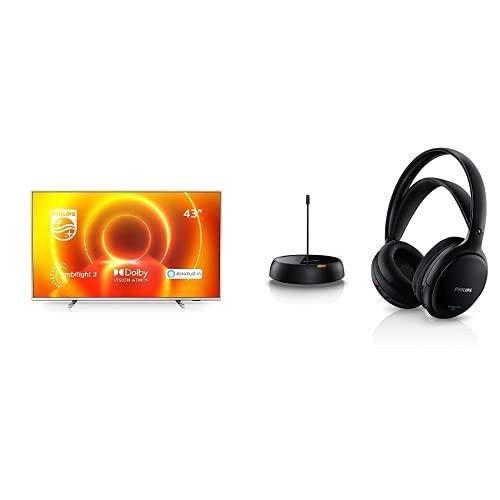 Philips 43PUS7855/12 Televisor Ambilight de 43' (4K UHD, P5 Engine, Dolby Vision∙Atmos, Alexa Integrado, Smart TV) con...