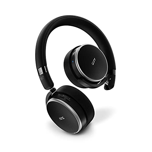 AKG akgn60ncb tblk inalámbrico on–Auriculares in-Ear con cancelación de Ruidos Negro