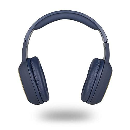 NGS ARTICA Pride Blue- Auriculares Inalámbricos, Compatible con Tecnología Bluetooth, con Micrófono, Batería de 7...