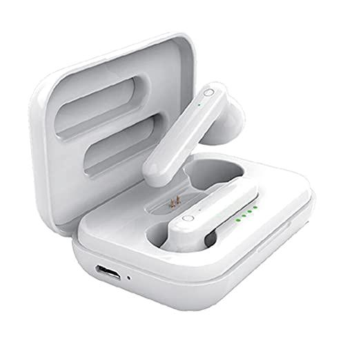 4-Ok Auriculares inalambricos BT 5.0. Micrófono, función Pop UP. Fácil emparejado, HI-Fi Estereo, Touch Sensor, Caja...