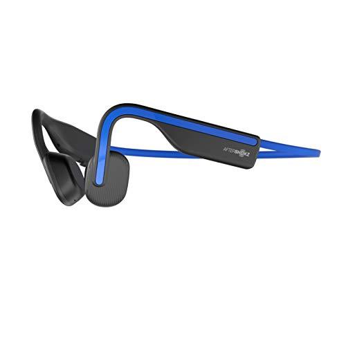 AfterShokz OpenMove, Auriculares Deportivos Inalámbricos con Bluetooth 5.0, Tecnología de Conducción Ósea, Carga...