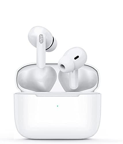 Auriculares Bluetooth, Auriculares Inalámbricos Deportivos con Microfono, Earpods Pro Estéreo con 40Hrs de...