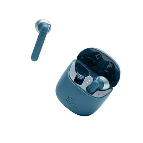 JBL 225 TWS Auriculares intraaurales realmente inalámbricos, con Bluetooth, Sonido Pure Bass y modo Dual Connect, hasta...