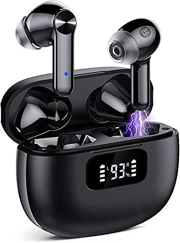 Auriculares Inalambricos, Cascos Inalambricos Bluetooth 5.1, Estéreo de HiFi, 40 Horas de Reproducción, Auriculares...