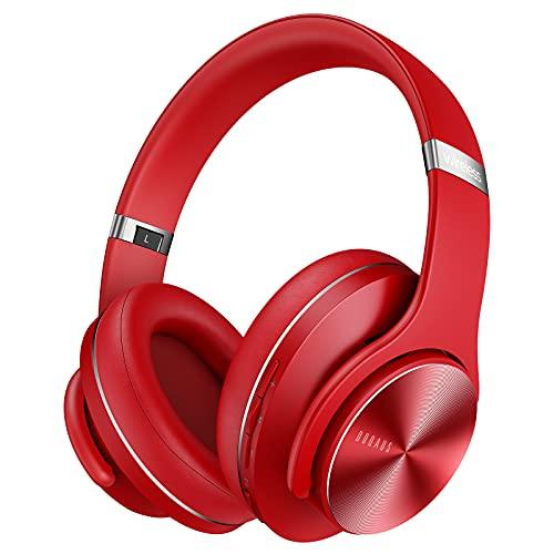 DOQAUS Auriculares Diadema, [52 Hrs de Reproducir] Alta fidelidad Estéreo Cascos Inalámbrico Bluetooth con 3 Modo EQ y...