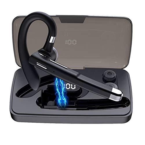 Auricular Bluetooth 5.0, auriculares inalámbricos Bluetooth para teléfonos móviles, con micrófono integrado, manos...