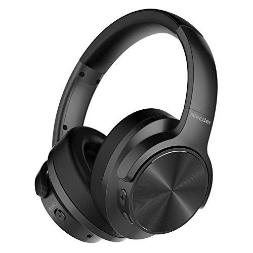 Mixcder E9 Auriculares inalámbricos con Cancelación de Ruido Activa Carga Rápida Casco Bluetooth 5.0 con Micrófono,...