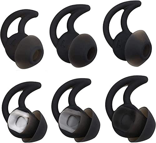 Adhiper QC20 - Auriculares de Silicona de Doble Brida con cancelación de Ruido compatibles con Bose QuietControl 30...