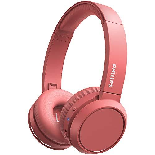Philips H4205RD/00 Auriculares inalámbricos Bluetooth, On Ear (Bass Boost, 29 horas de autonomía, Función de carga...
