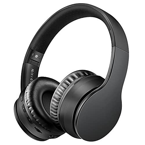 Sunvito Auriculares Bluetooth de Diadema Plegable,4 en 1 Estéreo Bass Inalámbrico Auriculares con Reproductor MP3,FM...