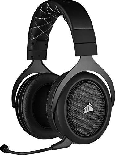 Corsair HS70 PRO WIRELESS SE, Auriculares Para Juegos (7.1 Sonido Envolvente, Inalámbrico De 2.4 GHz De Baja Latencia,...