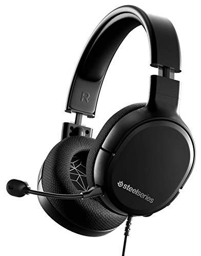 SteelSeries Arctis 1 Auriculares Gaming, Compatibilidad con Todas las Plataformas, para PC, PS5, PS4, Xbox, Nintendo...