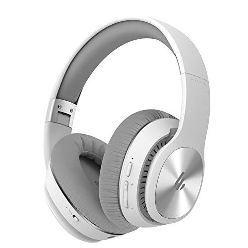 Edifier W828NB Auriculares Inalámbricos Bluetooth - Ergonómicos, con Cancelación Activa De Ruido (ANC) - Blanco