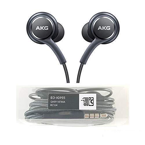 AKG - Auriculares estéreo para Samsung Galaxy S8, S9, S8 Plus, S9 Plus, S10, Note 8 y 9, con micrófono