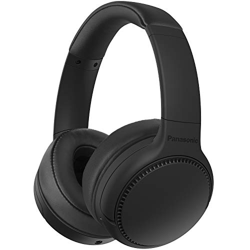 Panasonic RB-M300BE-K - Auriculares Inalámbricos Bluetooth (Control por Voz, XBS Potenciador de Bajos, Cable de 1.2 m,...