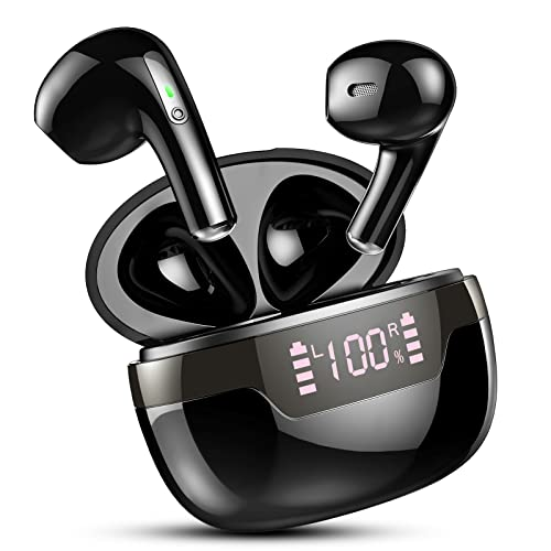 Auriculares Inalámbricos, Auriculares Bluetooth 5.2 Estéreo Cascos Inalambricos con IPX7 Impermeable, Reproducci 40...