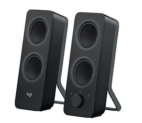 Logitech Z207 Sistema de Altavoce Bluetooth para PC, Sonido Estéreo, 10W de Pico, Entrada Audio 3.5 mm, Toma...