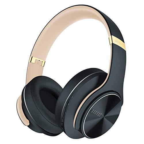 DOQAUS Auriculares Bluetooth Diadema, [52 Hrs de Reproducción] Alta fidelidad Estéreo Auriculares Inalámbricos con 3...