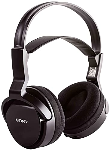 Sony MDR-RF811RK - Auriculares de Diadema Cerrados Inalámbricos, Negro