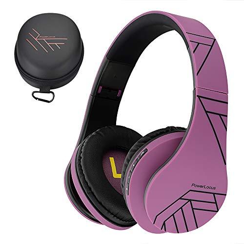 PowerLocus P2 – Auriculares Bluetooth inalambricos de Diadema Cascos Plegables, Casco Bluetooth con Sonido Estéreo...