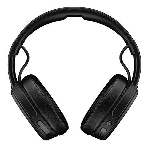 Skullcandy Crusher Over-Ear Bluetooth, Auriculares Inalámbricos con Micrófono, Espuma Viscoelástica con Aislamiento...