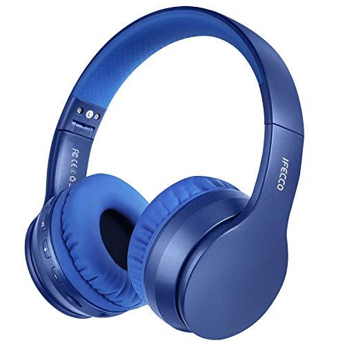 Cascos Bluetooth Diadema, Estéreo Música Auriculares Cerrados Inalámbricos Plegables HiFi con Micrófono Incorporado...