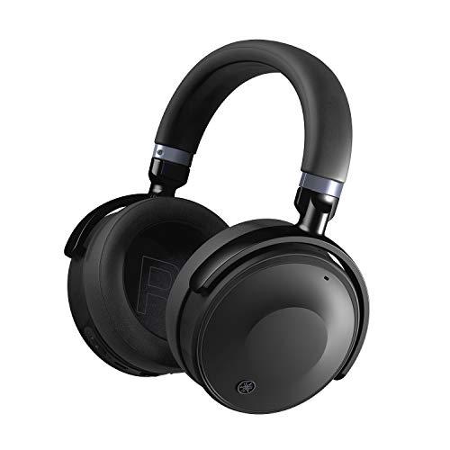 Yamaha Auriculares inalámbricos YH-E700A de Color Negro, con cancelación de Ruido Activa Avanzada con 35 Horas de...