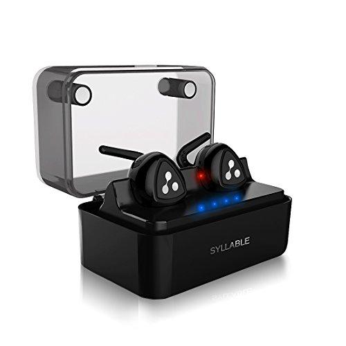 Auriculares Bluetooth, Syllable D900 Auriculares Deportivos Inalámbricos Bluetooth 4.2 Manos Libres con Caja de Carga...