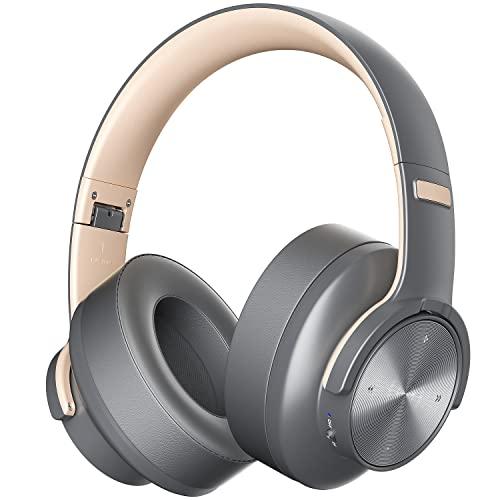 Auriculares Bluetooth de Diadema Cascos Bluetooth Inalambricos Plegable Bluetooth 5.0 Micrófono Incorporado y Hi-Fi...