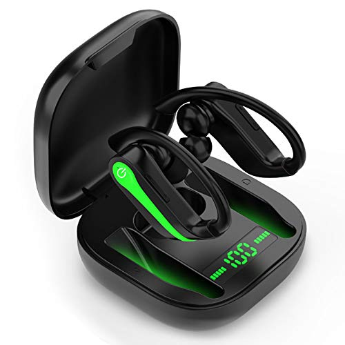 LYCHL Auriculares Inalambricos Deportivos, Auriculares Bluetooth 5.1 IP7 Impermeable Running Auriculares, Cascos...