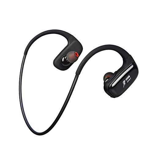 CYBORIS 16GB Memoria incorporada Reproductor de MP3 Auricular Bluetooth Natación Running Auricular IPX7 Auriculares...