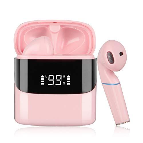 Auriculares inalambricos Bluetooth tactil,Sendowtek Control táctil del micrófono es Resistente al Agua y se Carga...
