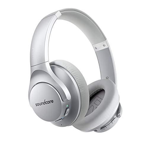 Anker Soundcore Life Q20 audífonos Bluetooth, cancelación de Ruido Activo híbrido, 40 Horas de reproducción, Audio...