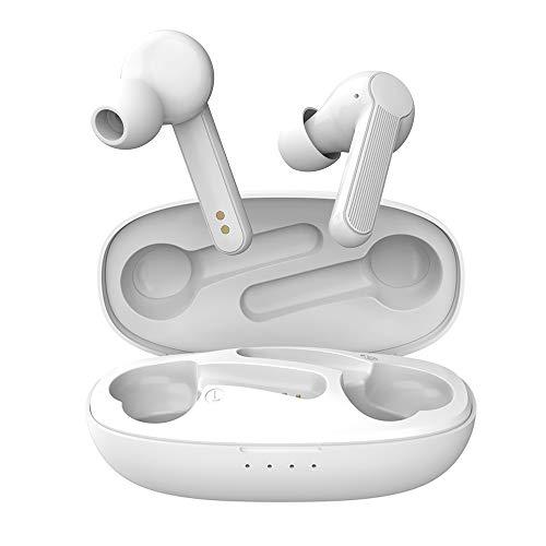 Auriculares Inalambricos Bluetooth, iAmotus Cascos Inalámbricos Bluetooth HiFi Mini Twins Sonido Estéreo In-Ear con...
