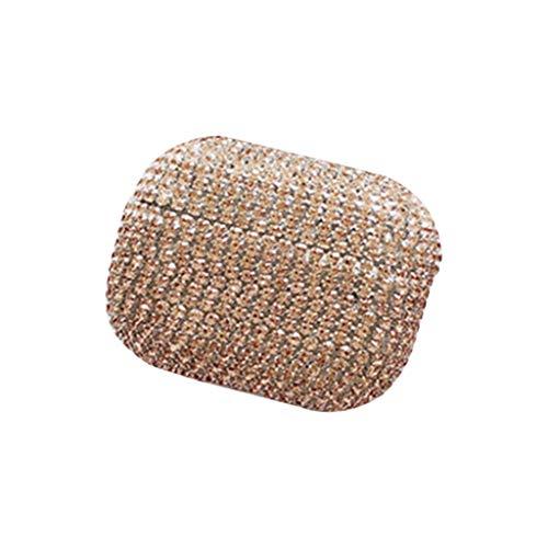 kdjsic Funda Protectora de Lujo con Diamantes de imitación para Auriculares, Carcasa Protectora para Auriculares...