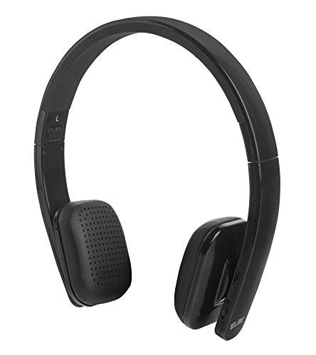ELBE ABT-004-NE - Auriculares de Diadema Plegables (Bluetooth, micrófono Incorporado, 8 Horas reproducción) Color...