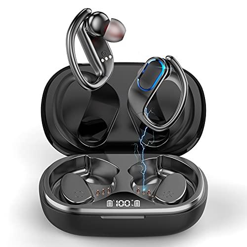 Auriculares Inalambricos Deportivos, Auriculares Bluetooth 5.0 con Microfono, IP7 Impermeable Auricular In-Ear con...