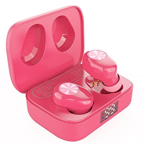 Amazon Brand - Eono Auriculares de botón inalámbricos Eonobuds 1 con Bluetooth, Sonido nítido,IPX7 de...