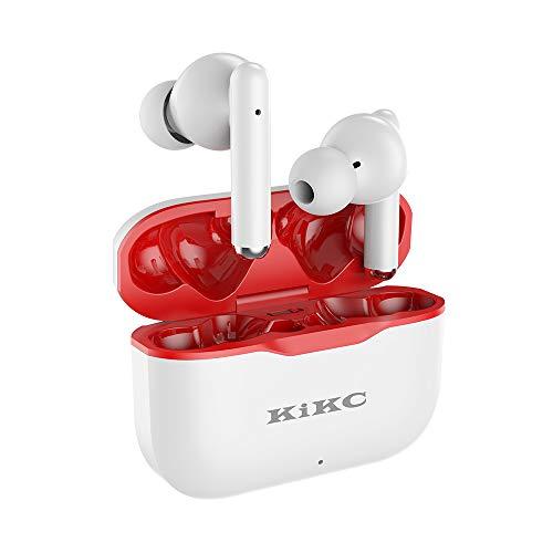 Auriculares Blutetooth, Znines Cascos Estéreo In-Ear Impermeables Bluetooth 5.0 IPX5, Micrófono Incorporado, Carga...