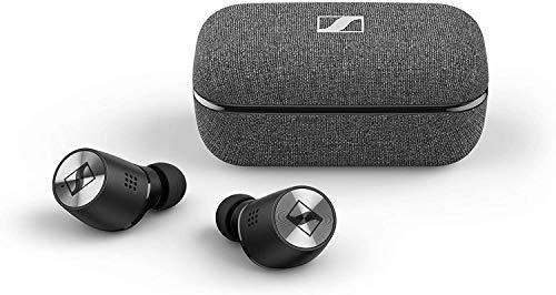 Sennheiser Momentum True Wireless 2, Auriculares Intraurales Bluetooth con Cancelación Activa de Ruido, M2TWBlack