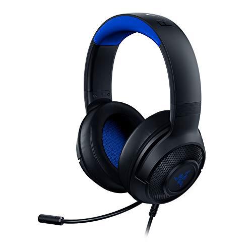 Razer Kraken X para Consolas - Auriculares Gaming Ligero para PC, Mac, PS4, Xbox One & Switch con sonido Envolvente 7.1,...