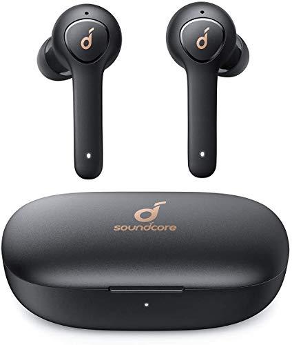 Anker Soundcore Life P2 Auriculares Bluetooth inalámbricos con microfono, 40 Horas de reproducción, IPX7 Impermeable,...