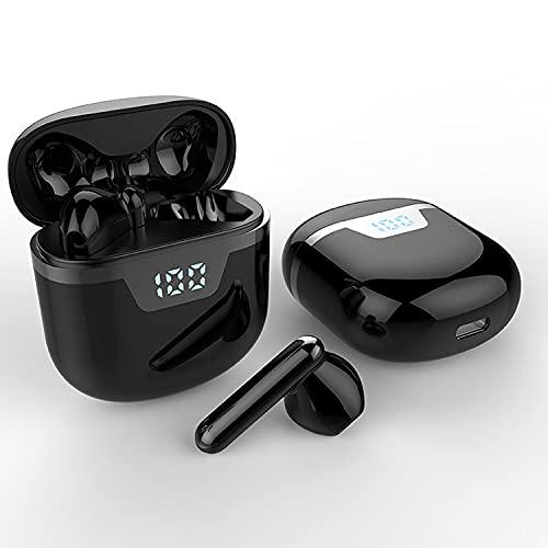 Auriculares Bluetooth, Auriculares inalámbricos, Auriculares inalámbricos Bluetooth 5.0, Pantalla Digital LED,...